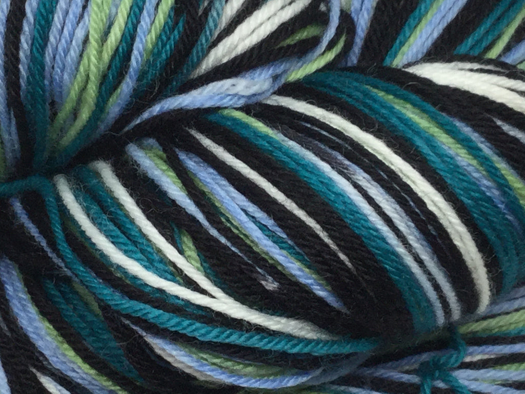 Bond, James Bond - Octopussy Six Stripe Self Striping Yarn
