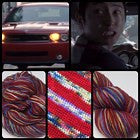 If They Kill Glenn Four Stripe Self Striping Yarn