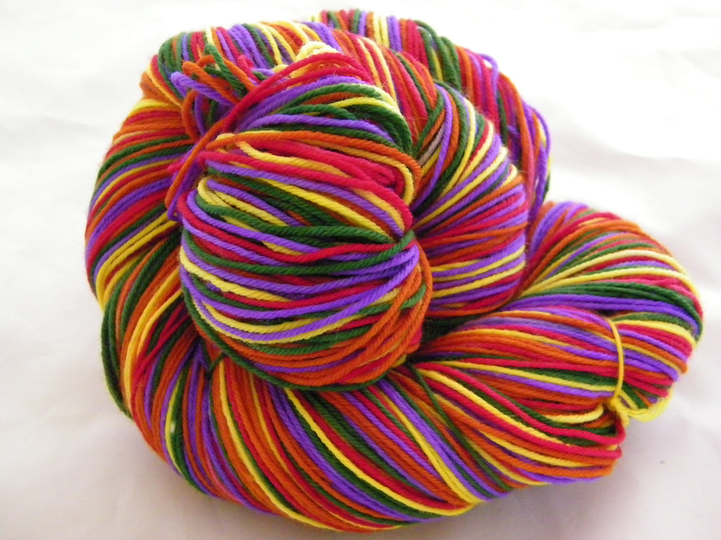 Go Go's Vacation Five Stripe Self Striping Yarn
