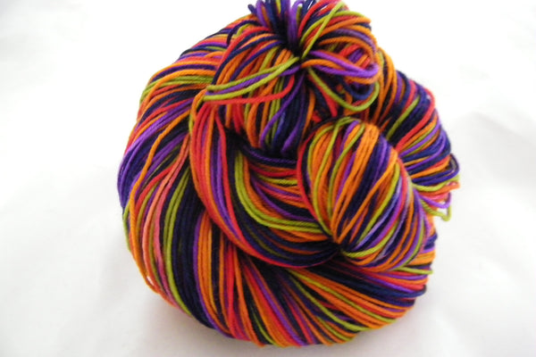 Sun Ripened Grapes Seven Stripe Self Striping Yarn