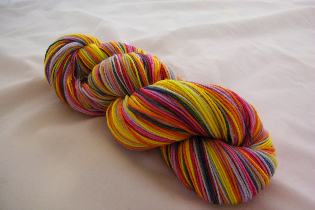 Rainbow Grannies Eight Stripe Self Striping Yarn
