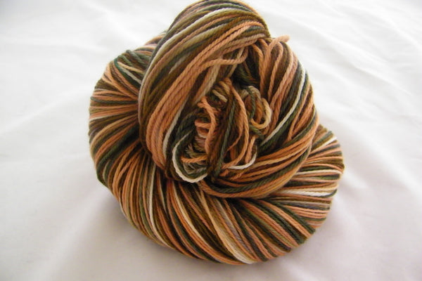 Tuscany Six Stripe Self Striping Yarn