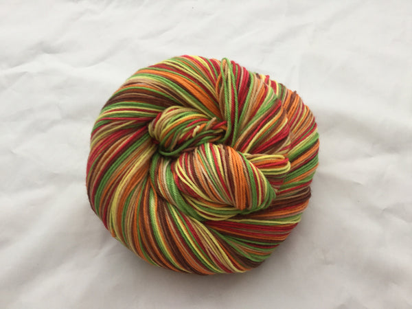 1949 M & M's Six Stripe Self Striping Yarn
