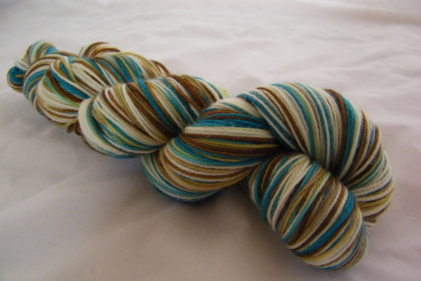 The Shopkeeper Four Stripe Self Striping Yarn
