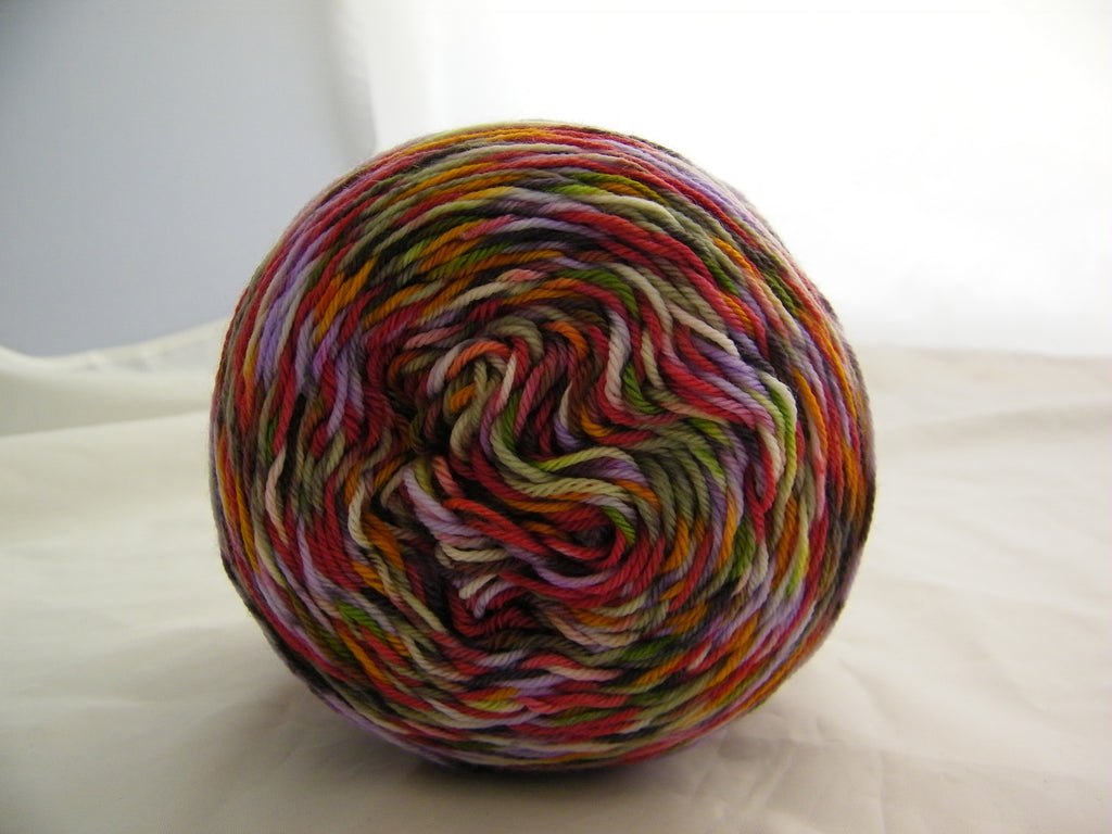 ZomBody Bit Your Elf Four Stripe Self Striping Yarn