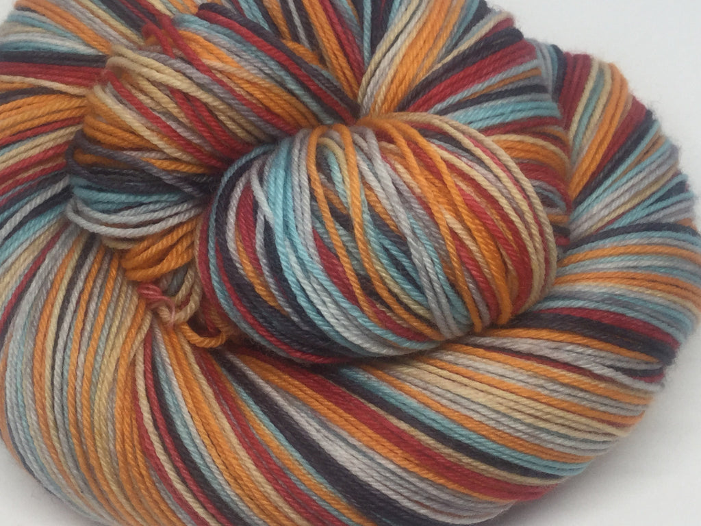 Ready Player One Six Stripe Self Striping Yarn