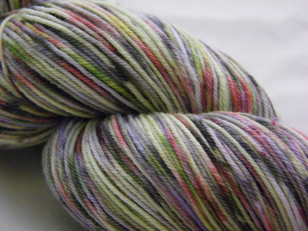 Dry Bones Grey ZomBody Decomp Semi Solid Sock Yarn
