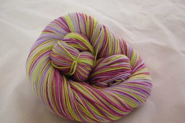 Shake Your Bon Bon Three Stripe Self Striping Yarn