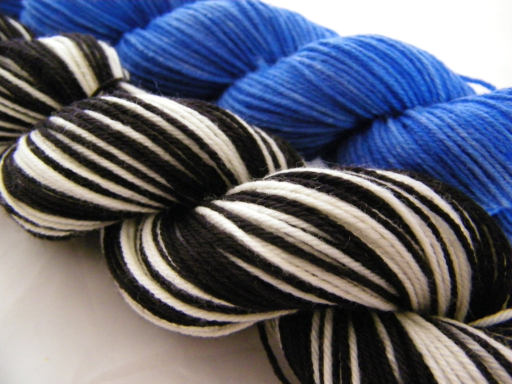 Elvis Half Skeins Stripe Self Striping Yarn