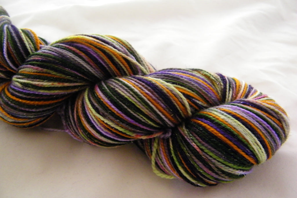 ZomBody Throw Me Some Beads Six Stripe Self Striping Yarn