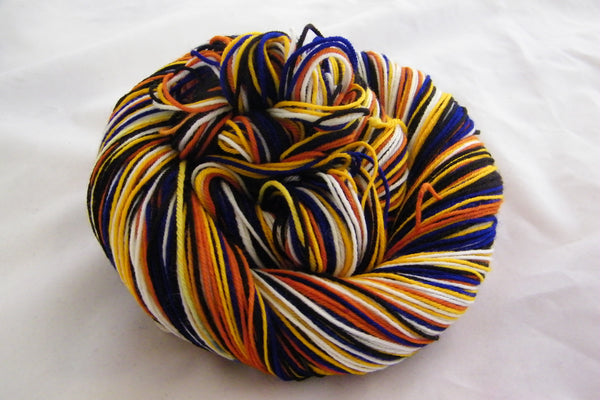 Saturday Night Fever Five Stripe Self Striping Yarn