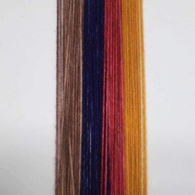 Woody Four Stripe Self Striping Yarn