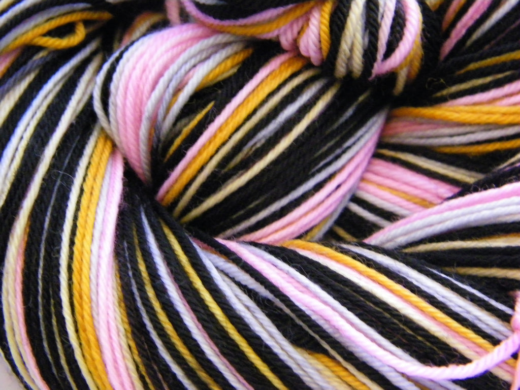 Elvis & Fleetwood Mac Six Stripe Self Striping Yarn