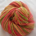 Melon Medley Three Stripe Self Striping Yarn