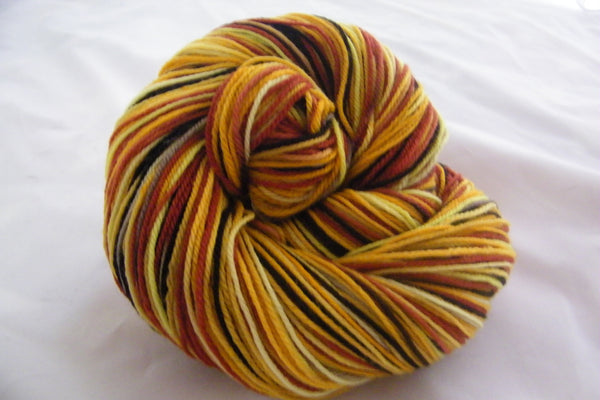 Sunflowers Four Stripe Self Striping Yarn