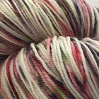 Here Comes the ZomBride Four Stripe Self Striping Yarn