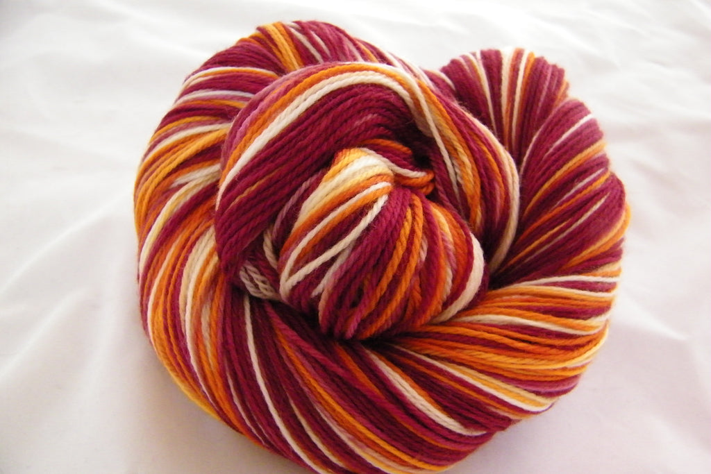 Cranberry Sauce Variegated Yarn
