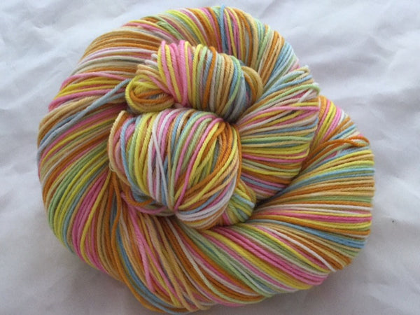 Monopoly Money Seven Stripe Self Striping Yarn