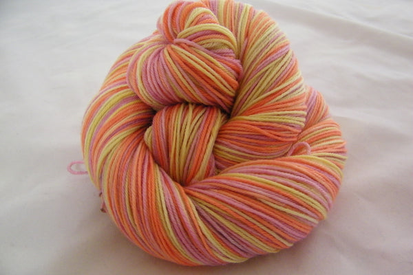 Plumeria Three Stripe Self Striping Yarn