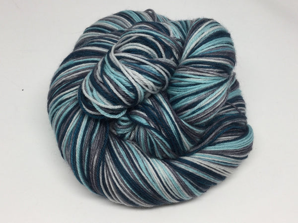 Night Four Stripe Self Striping Yarn