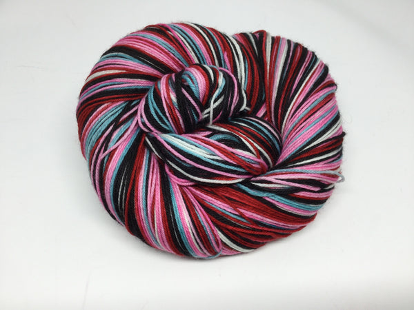 Bond, James Bond - The Spy Who Loved Me Six Stripe Self Striping Yarn