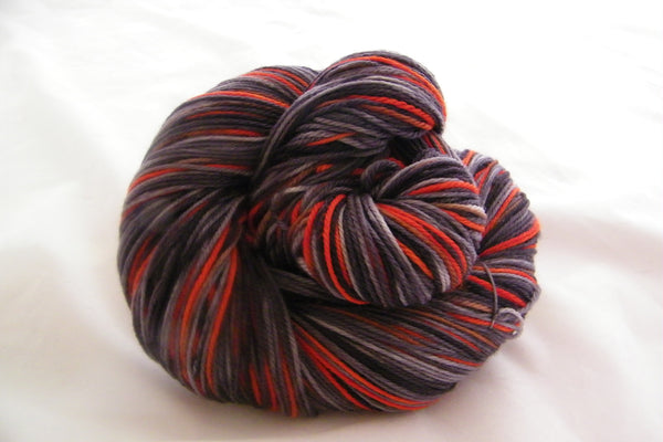 Night Fire Three Stripe Self Striping Yarn