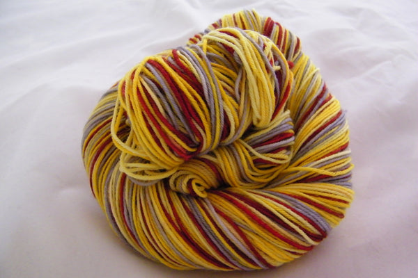 Midnight Sun Four Stripe Self Striping Yarn