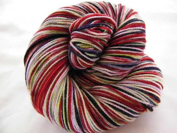 ZomBody Vants to Drink Your Blood Four Stripe Self Striping Yarn