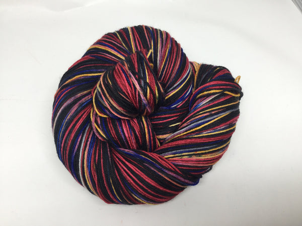 Dracula Four Stripe Self Striping Yarn