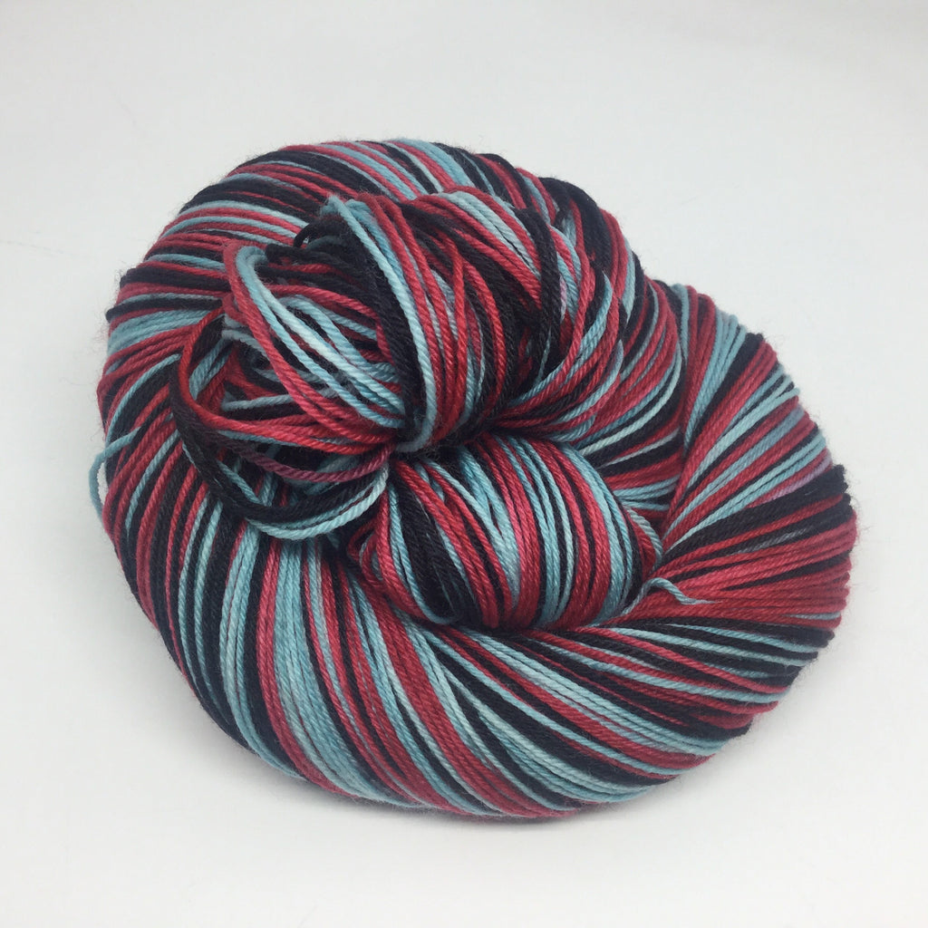 The Crow Three Stripe Self Striping Yarn