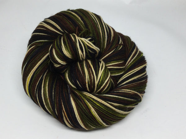 Mr. Darcy Four Stripe Self Striping Yarn
