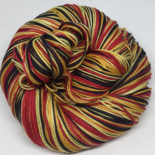 Winnie the Pooh Four Stripe Self Striping Yarn