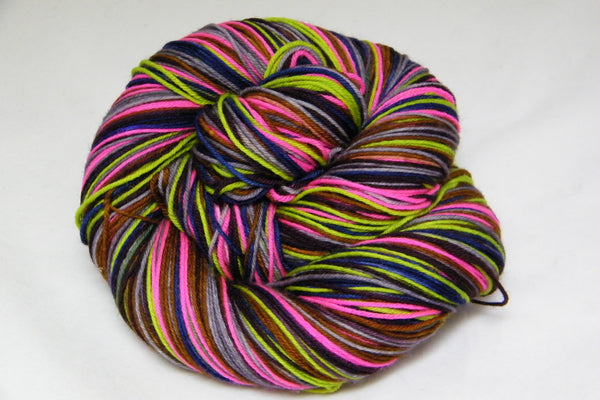 Tassels Six Stripe Self Striping Yarn