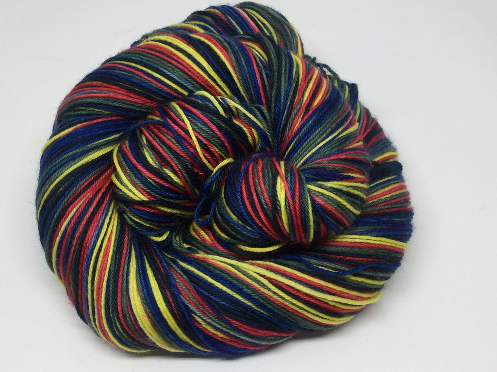 Dancing Sandwiches Five Stripe Self Striping Yarn