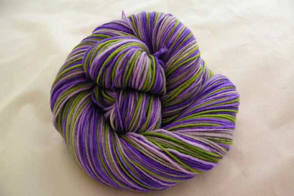 Lavender of Provence Four Stripe Self Striping Yarn