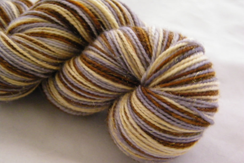 Geese Laying Three Stripe Self Striping Yarn