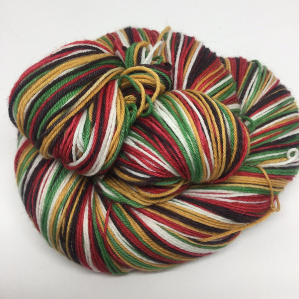 Central Perk Six Stripe Self Striping Yarn