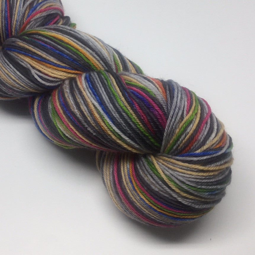 Knows Your Name Six Stripe Self Striping Yarn
