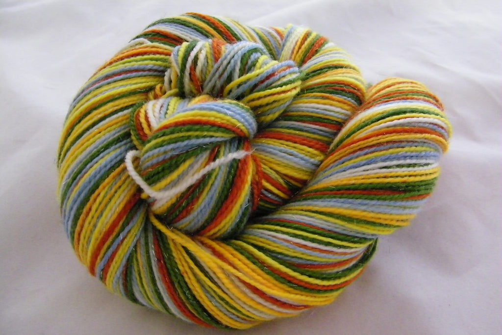 Wildflowers Six Stripe Self Striping Yarn