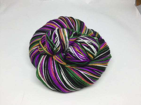 Bond, James Bond - Goldfinger Six Stripe Self Striping Yarn