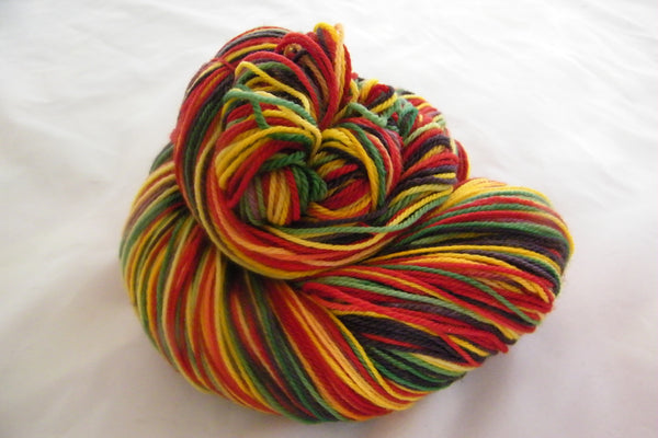 Highland Games Four Stripe Self Striping Yarn