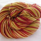 Pineapple Upside Down Cake Three Stripe Self Striping Yarn