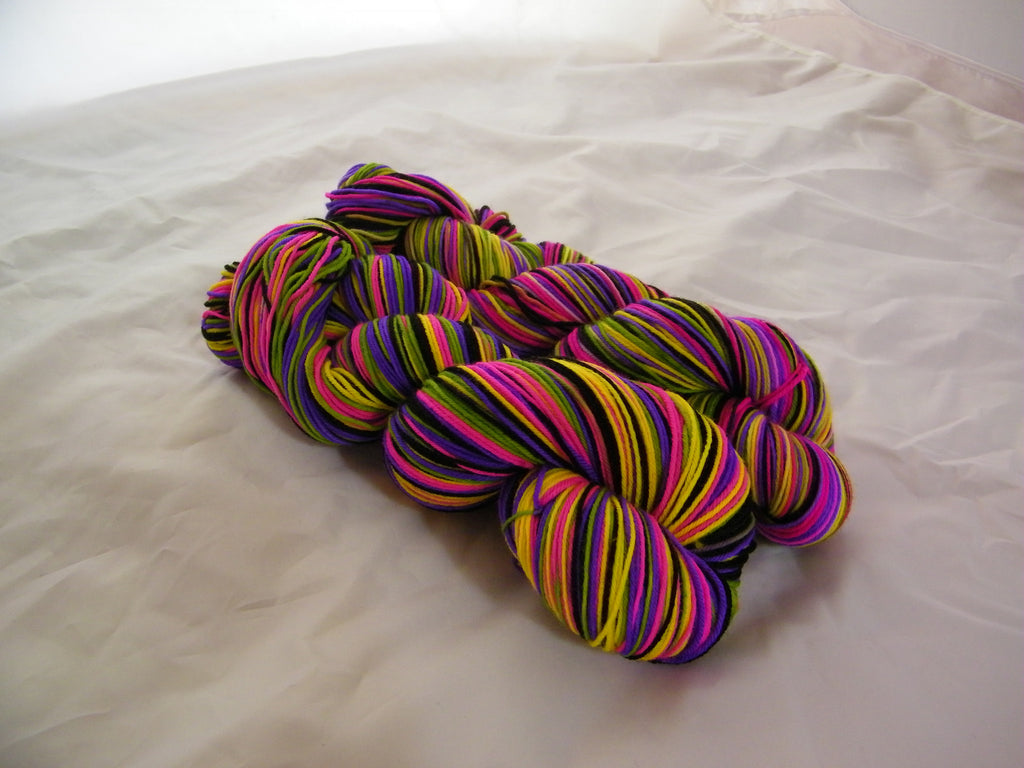 Rock n' Roll High School Five Stripe Self Striping Yarn