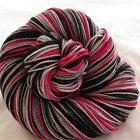 Color Accents - Cherry Six Stripe Self Striping Yarn