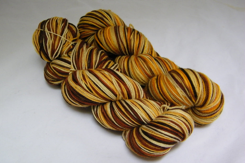 Camels in the Desert Four Stripe Self Striping Yarn