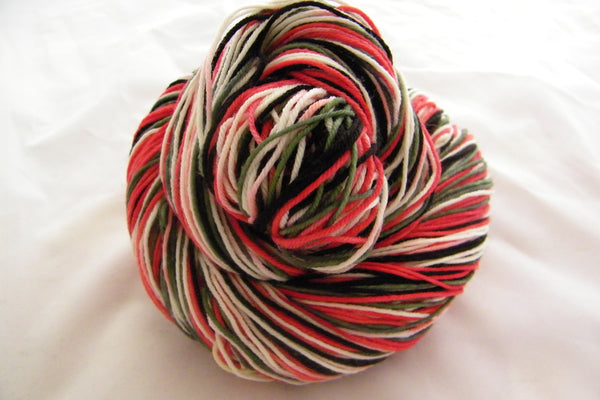 Sushi Four Stripe Self Striping Yarn