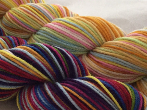 Monopoly Half Skeins Self Striping Yarn