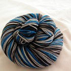 Color Accents - Turquoise Six Stripe Self Striping Yarn