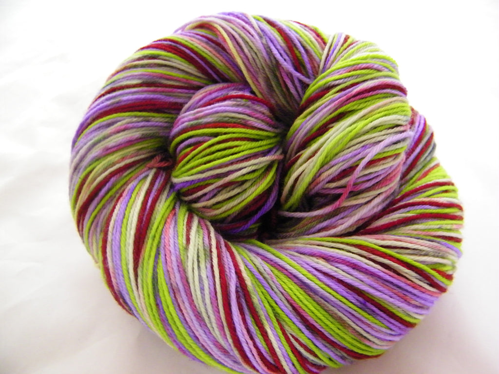 ZomBody's Bobbin' for Apples Four Stripe Self Striping Yarn