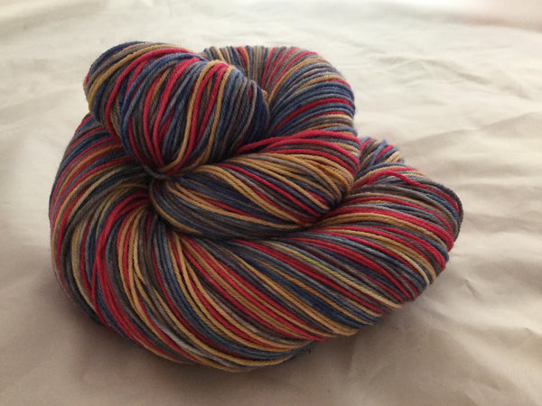 Star Spangled Four Stripe Self Striping Yarn